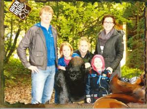Happy family bij Apenheul